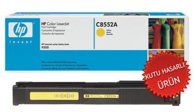 HP - HP C8552A (822A) SARI ORJİNAL TONER - Laserjet 9500 Serisi (C)