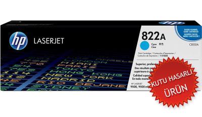 HP - HP C8551A (822A) MAVİ ORJİNAL TONER - Laserjet 9500 Serisi (C)
