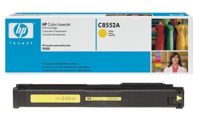 HP - HP C8552A (822A) SARI ORJİNAL TONER - Laserjet 9500 Serisi (B)
