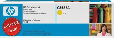HP - HP C8562A (822A) SARI DRUM ÜNİTESİ-GÖRÜNTÜLEME TAMBURU-Laserjet 9500 (U)