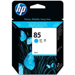 HP - HP 85 C9425A MAVİ MÜREKKEP KARTUŞU
