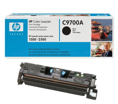 HP - HP C9700A (121A) Siyah Orjinal Toner (B)