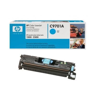HP - HP C9701A (121A) MAVİ ORJİNAL TONER (B)
