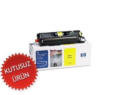 HP - HP C9702A (121A) SARI ORJİNAL TONER (U)