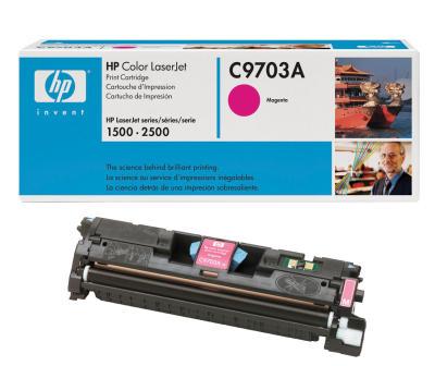 HP - HP C9703A (121A) KIRMIZI ORJİNAL TONER - HP 1500-2500 YAZICI TONERİ (B)