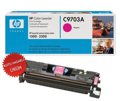 HP - HP C9703A (121A) KIRMIZI ORJİNAL TONER (C)