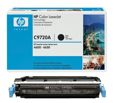 HP - HP C9720A (641A) SİYAH ORJİNAL TONER - HP 4600-4610-4650 TONERİ (B)
