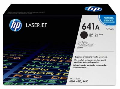 HP - HP C9720A (641A) SİYAH ORJİNAL TONER- HP 4600-4610-4650 TONERİ