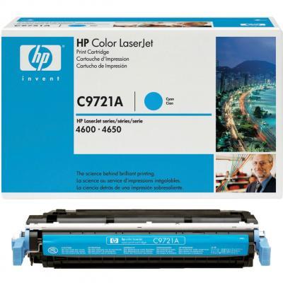 HP - HP C9721A (641A) MAVİ ORJİNAL TONER- HP 4600-4610-4650 TONERİ (B)