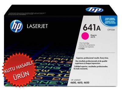 HP - HP C9723A (641A) KIRMIZI ORJİNAL TONER - HP 4600-4610-4650 TONERİ (C)