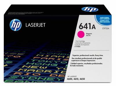 HP - HP C9723A (641A) KIRMIZI ORJİNAL TONER - HP 4600-4610-4650 TONERİ