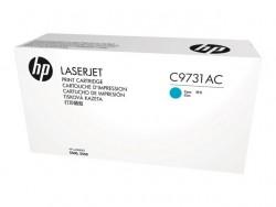 HP - HP C9731AC MAVİ ORJİNAL TONER- LaserJet 5500 / 5550