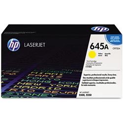 HP - HP C9732A (645A) SARI ORJİNAL TONER - HP 5500 / 5550 TONERİ