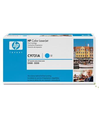 HP - HP C9731A (645A) Mavi Orjinal Toner - HP 5500 / 5550 Toneri (B)