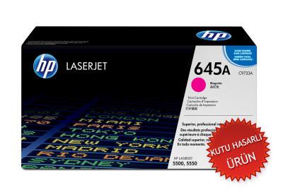HP - HP C9733A ORJİNAL KIRMIZI TONER (C)