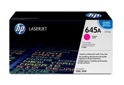 HP - HP C9733A ORJİNAL KIRMIZI TONER - Laserjet 5500/5550