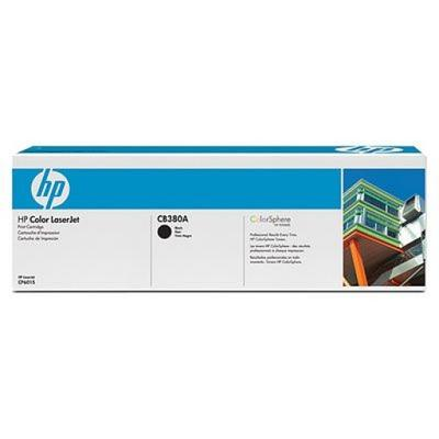 HP - HP CB380A (823A) Siyah Orjinal Toner Laserjet CP6015, CM6030, CM6040 (B)