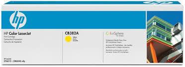 HP - HP CB382A (824A) SARI ORJİNAL TONER CP6015-CM6030-CM6040 (B)