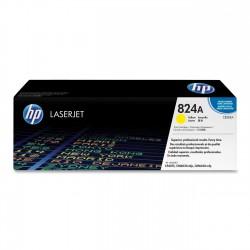 HP - HP CB382A (824A) SARI ORJİNAL TONER CP6015-CM6030-CM6040