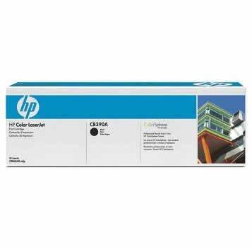 HP - HP CB390A (825A) Siyah Orjinal Toner CM6030 / CM6040 (B)