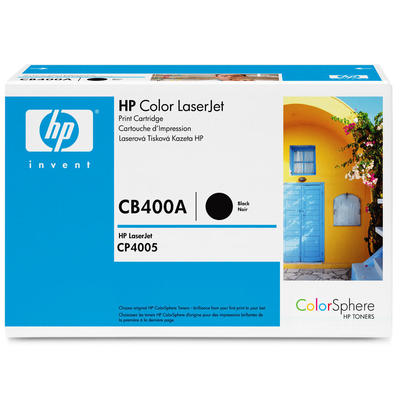 HP - HP CB400A (642A) Siyah Orjinal Toner - HP CP4005 Toner (B)