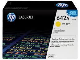 HP - HP CB402A (642A) Sarı Orjinal Toner - HP CP4005 Toner