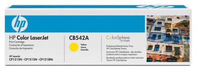 HP - HP CB542A Sarı Renkli Orjinal Toner - CP1215-CP1515-CM1312 (B)
