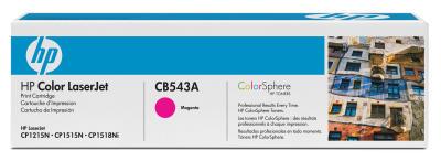 HP - HP CB543A KIRMIZI ORJİNAL TONER-CP1215-CP1515-CM1312 (B)
