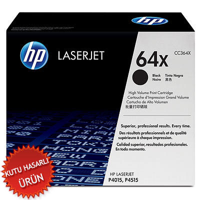 HP - HP CC364X (64X) Orjinal Toner -P4015 / P4014 / P4515 (C)