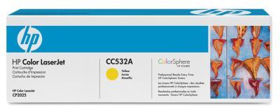 HP - HP CC532A SARI ORJİNAL TONER - CP2025 / CM2320 SARI TONER (B)