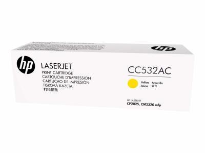 HP - HP CC532AC SARI ORJİNAL TONER - CP2025 / CM2320