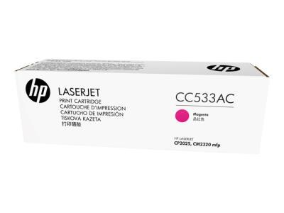 HP - HP CC533AC KIRMIZI ORJİNAL TONER - CP2025 / CM2320