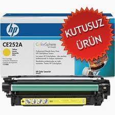 HP - HP CE252A SARI RENKLİ ORJİNAL TONER (U)