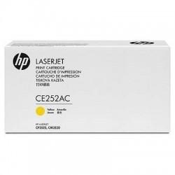 HP - HP CE252AC (504A) SARI ORJİNAL TONER-CP3525 / CM3530 TONERİ