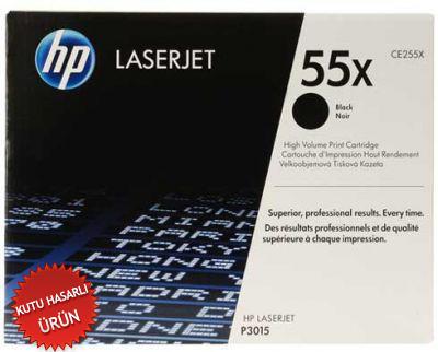 HP - HP CE255X (55X) Siyah Orjinal Toner - HP Laserjet P3015 (C)