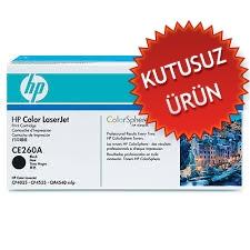 HP - HP CE260A SİYAH ORJİNAL TONER (U)