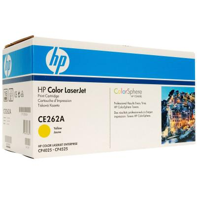 HP - HP CE262A (648A) SARI ORJİNAL TONER (B)