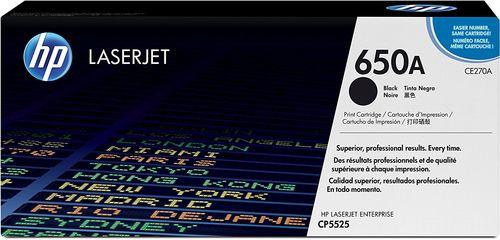 HP CE270A (650A) Siyah Orjinal Toner - CP5525 Toneri
