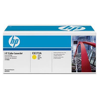 HP - HP CE272A (650A) Sarı Orjinal Toner - CP5525 Toneri (B)