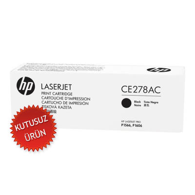HP - HP CE278AC (78AC) SİYAH ORJİNAL TONER (U)