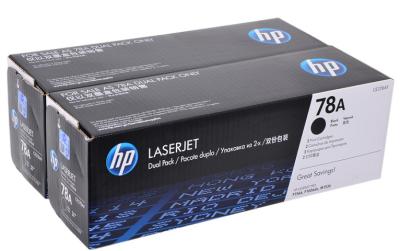 HP - HP CE278AF (78A) İkili Paket Orjinal Toner Laserjet P1566, P1606, M1536