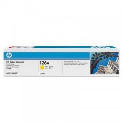 HP - HP CE312A (126A) SARI ORJİNAL TONER-HP CP1025 SARI TONER (B)