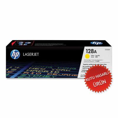 HP - HP CE322A SARI ORJİNAL TONER (C)