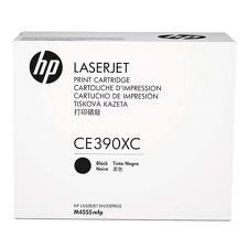 HP - HP CE390XC (90X) SİYAH ORJİNAL TONER - M4555 / M602 / M603