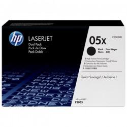 HP - HP CE505XD (05X) SİYAH 2li PAKET ORJİNAL TONER - HP P2035 / P2055 TONERİ