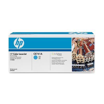 HP - HP CE741A (307A) Mavi Orjinal Toner - HP CP5225 (B)