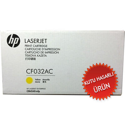 HP - HP CF032AC (646A) SARI ORJİNAL TONER (B)