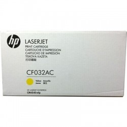 HP - HP CF032AC (646A) SARI ORJİNAL TONER - LaserJet CM4540
