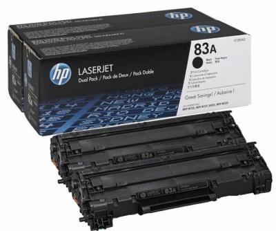 HP - HP CF283AF (83A) SİYAH ORJİNAL TONER 2li Paket M127 / M125 / M201