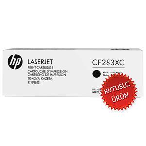 HP - HP CF283XC (83X) SİYAH ORJİNAL TONER (U)